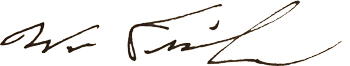 William Fisher signature