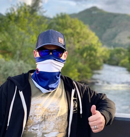 Mask wearing Clear Creek